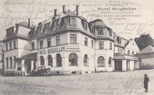 """Hotel """"Bergkeller"""" ca. 1915"""