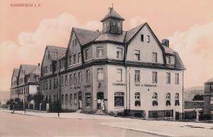 Konditorei und Café Paul Wolf 1912
