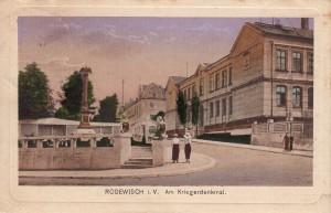 Kriegerdenkmal 1920