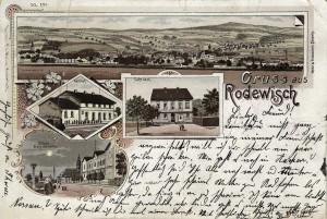 Lithografie Rodewisch 06