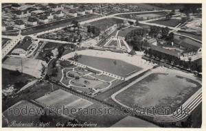 Luftbildaufnahme ca. 1923