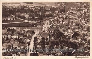 Luftbildaufnahme 1925 Mitte
