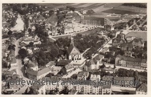 Luftbildaufnahme 1930