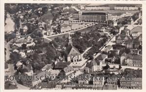 Luftbildaufnahme 1935