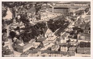 Luftbildaufnahme 1939