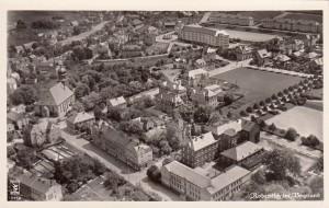 Luftbildaufnahme 1940er Anfang