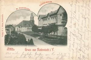 Mehrbildkarten nur Rodewisch 1900