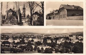Mehrbildkarten nur Rodewisch ca. 1955