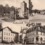 Mehrbildkarten nur Rodewisch 1964
