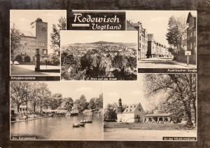Mehrbildkarten nur Rodewisch 1966 (2)