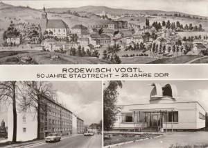 Mehrbildkarten nur Rodewisch 1974