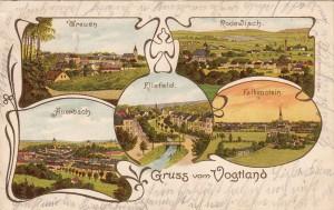 Mehrbildkarten mit Rodewisch 1903