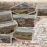 Mehrbildkarten mit Rodewisch 1904