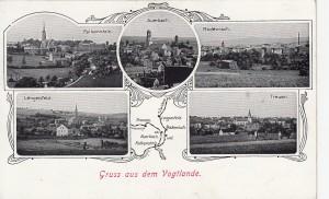 Mehrbildkarten mit Rodewisch 1916 (2)