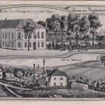 "Gasthof zum ""Messingwerk"" ca. 1910"