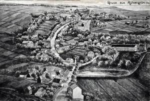 Rützengrün 1909