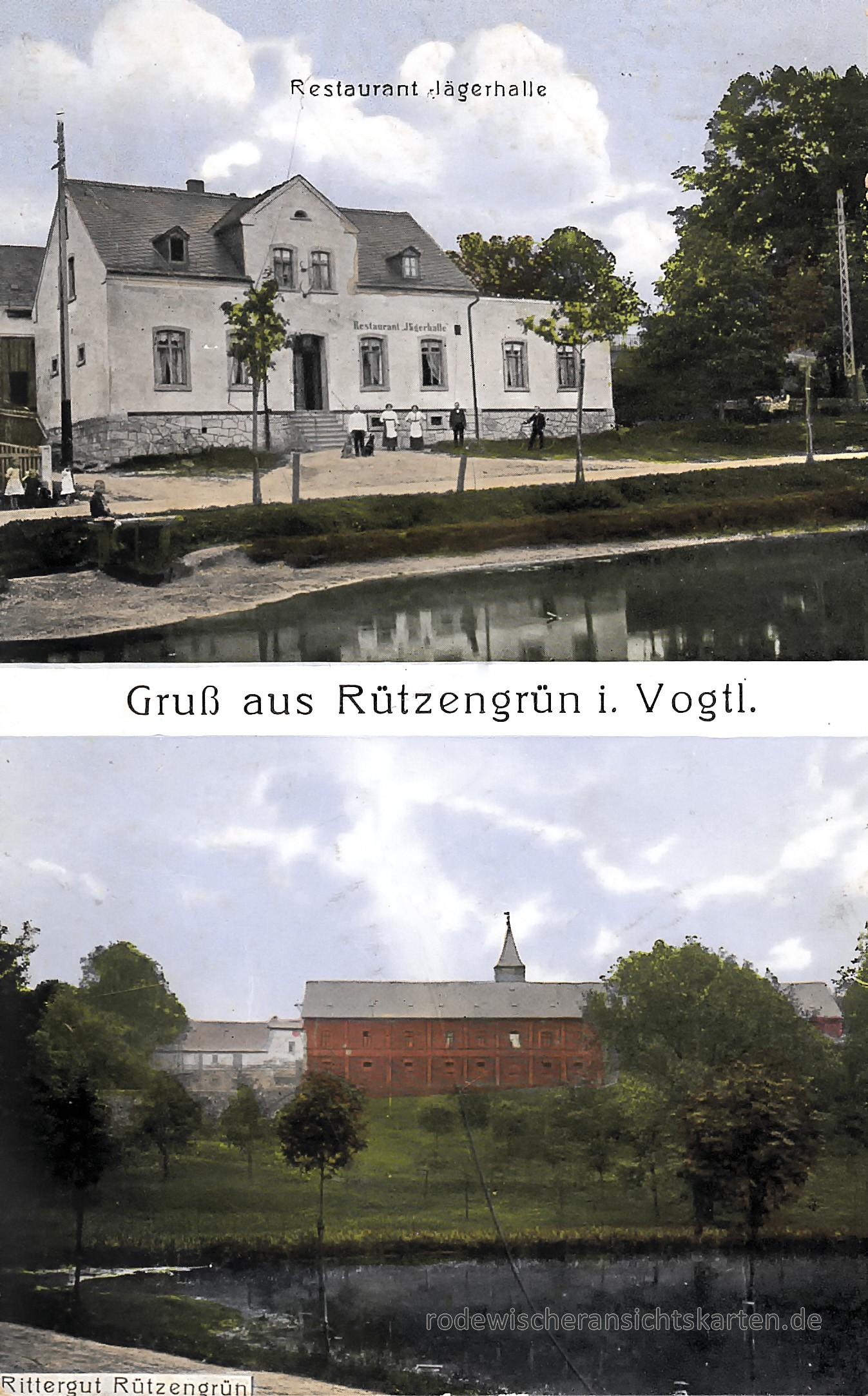 Rützengrün   Ansichtskarten aus Rodewisch