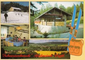 """Gaststätte und Pension """"Schanzenbaude"""" 2003"""