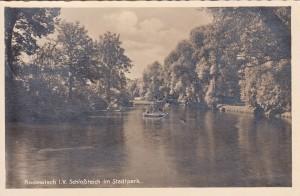 Schloßinsel 1940