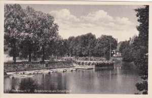 Schloßinsel ca. 1950
