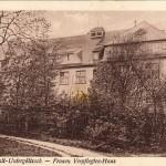 Heil- und Pflegeanstalt Untergöltzsch 1928