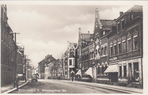 Wernesgrüner Strasse ca. 1930