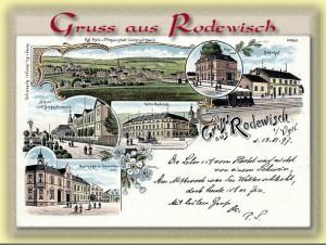 Buch Gruss aus Rodewisch - 111 hundertjährige Ansichtskarten aus Rodewisch, Rützengrün, Röthenbach und dem Steinberg.