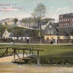 Original gesucht: Partie am Anger mit Blick nach der Burgstrasse 1911